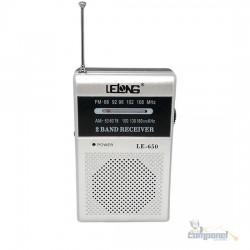 Rádio De Bolso Am / fm  Le650 Lelong